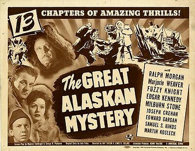 The Great Alaskan Mystery -  Classic Cliffhanger Serial DVD  Milburn Stone