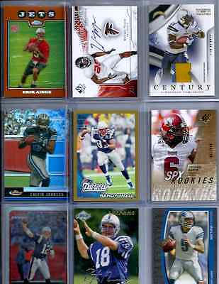 Sports Card Lot Hot Pack 10x BV Jersey Autos Numbered Refractors Stars RC