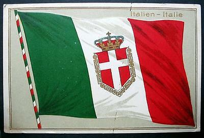 Italy Flag  - Crown Kingdom Of Italian   -   Italia