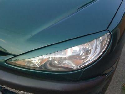 Peugeot 206 Casquettes De Phares (Abs) - Tuning-Gt