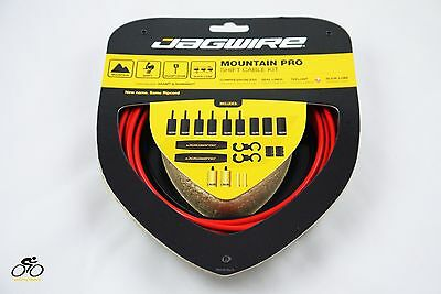 Jagwire Mountain Pro Shift Cable kit for SRAM & Shimano MCK215 - Red