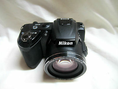 Nikon COOLPIX L120 14.1 MP 21x optical wide zoom lens NEAR-MINT COND(Ships free)