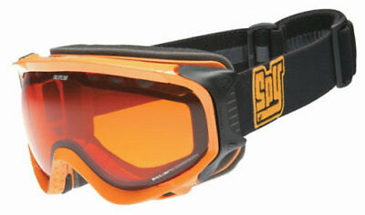 NEW SPY - Soldier - Snow Goggles, Yellow Frame / Persimmon Lens