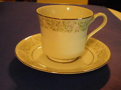 Taihei China SPRING TIME Springtime JAPAN Cup & Saucer SET excellent condition