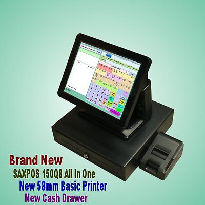 SAXPOS (Compact & Light) Point of Sale System Set for Retail & Hospitality