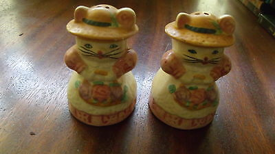 A Vintage Kitty Cat Salt and Pepper Shakers Set