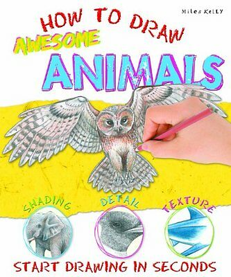 How To Draw Awesome Animals __ Brand New __ Freepost Uk