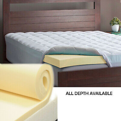 Memory Foam Mattress Toppers All Sizes And Thickness - Now Come Boxed !!