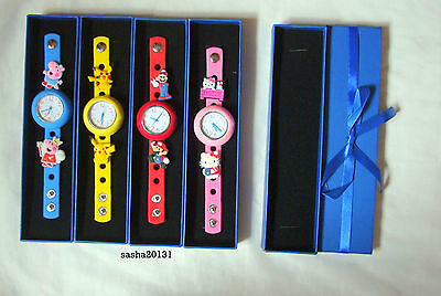 Jibbitz Band Watch Box,  Blue Brand New,suitable For My Jibbitz Band Watches