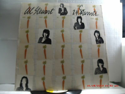 """AL STEWART -(LP)- 24 CARROTS  - INCLUDES  """"PAINT BY NUMBERS""""- ARISTA  9520- 1980"""