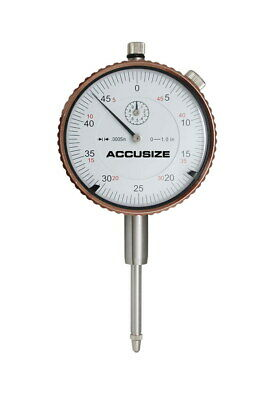 0-1'' x 0.0005'' Dial Indicator, AGD2 Style, with Back Lug, #P900-S099