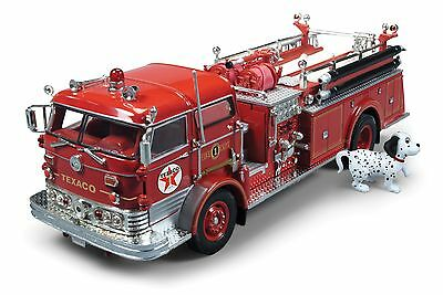 2014 Texaco #6 In Firetruck Series 1960 Mack C Fire Pumper Truck Cp7157 Mib New
