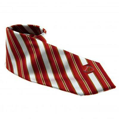 ARSENAL FC Official Players Tie CS Red White Club Crest Gunners
