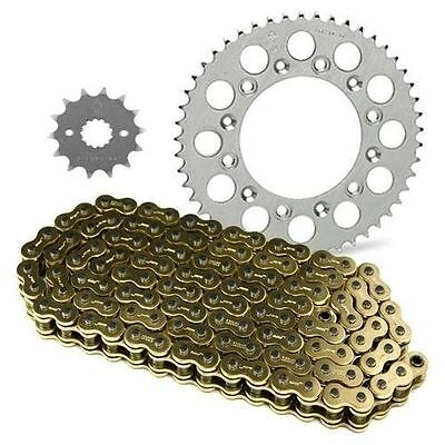 JT Sprockets and Gold Chain Kit CRF100F 2004-2013 -High Quality- *14/50* (Black)