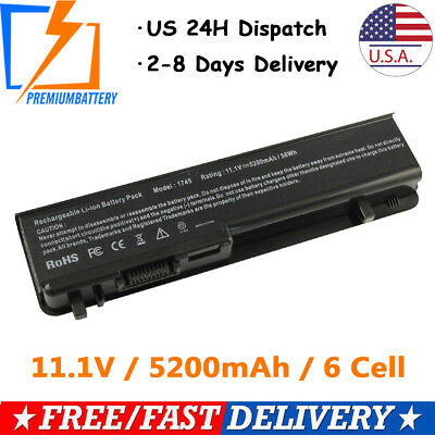 6 Cell Battery for Dell Studio 17 1745 1747 1749 N855P N856P N905P 312-0186