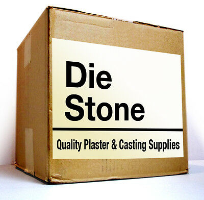 DIE STONE  - WHITE  -  25  Lbs  for  $41    - FREE FAST SHIPPING. Blend by US!