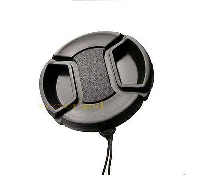 58mm pinch lens Cap Cover fits Canon Sony Nikon Olympus Pentax Samsung