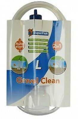 Superfish Gravel Clean Tropical Fish Discus Marine Coldwater Large