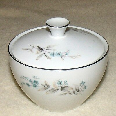 fine china of japan forget me not sugar bowl with lid excellent