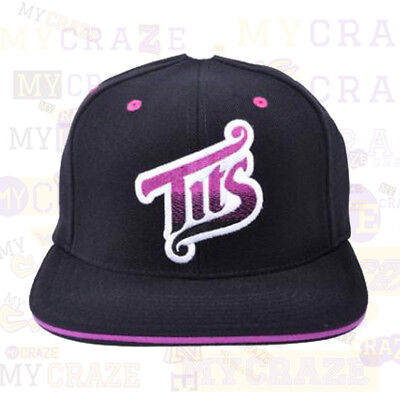 Two In The Shirt T.I.T.S. Black Snapback Cap