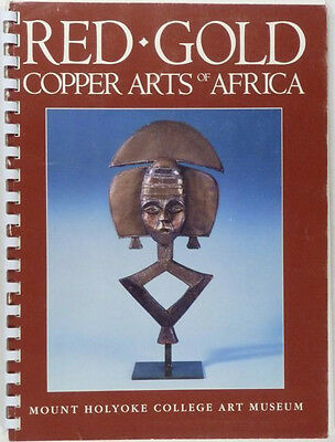 Antique Traditional African Copper Arts & Crafts & Tools Exhibition Catalog