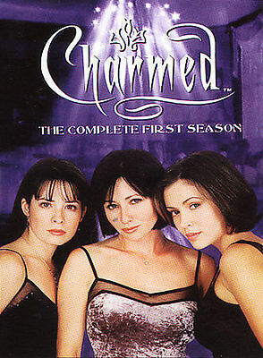 Charmed - The Complete First Season (DVD, 2005, 6-Disc Set) Alysaa Milano NM CON