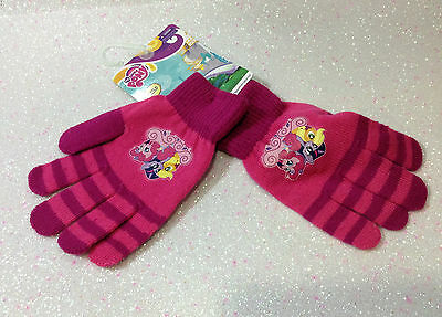 Hasbro Mio Mini Pony My Little Pony Guanti Fucsia Gloves Handschuhe Gants