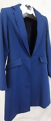 Reed Hill Saddleseat Ld 3p suit Bright Navy Tone on Tone poly size 14 - USA