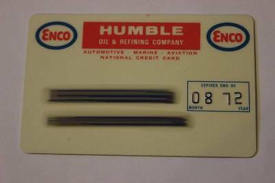 VINTAGE ENCO HUMBLE OIL & REFINING CO. GAS CREDIT CHARGE CARD EXP 08/1972 C5465