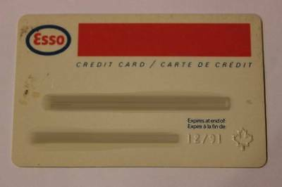 VINTAGE HUMBLE OIL & REFINING COMPANY CREDIT CHARGE CARD EXP 12/1991 C5526