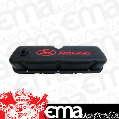 Proform Ford Racing Steel Valve Covers Pr302-072 Black Suit Ford 289-351W