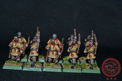28mm Ancient WAB DPS Painted Late Roman / Byzantine Archers WP4257