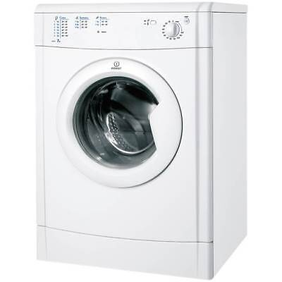 Indesit IDV75 7kg 15 Temps Vented Tumble Dryer with Reverse Action in White New