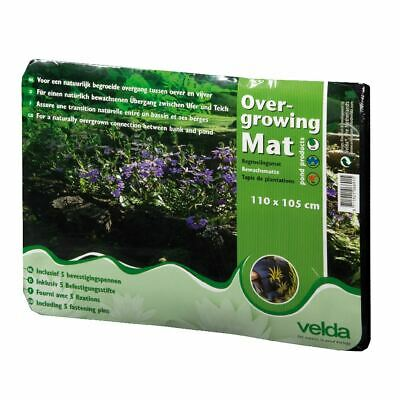 Velda Pond Over Growing Mat 110Cm X 105Cm Plants Flowers Natural