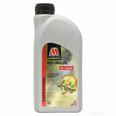 Millers Oils NANODRIVE EE LongLife C3 5w-30 Full Synthetic Engine Oil - 5 Litres