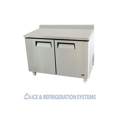 """ATOSA 48"""" COMMERCIAL WORK TOP FREEZER MGF8413"""
