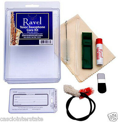 Ravel #377 Tenor Saxophone Care & Cleaning Kit