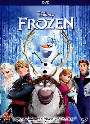 DISNEY Frozen (DVD, 2014) - NEW DVD & SEALED  w/ Outer Jacket FREE SHIPPING