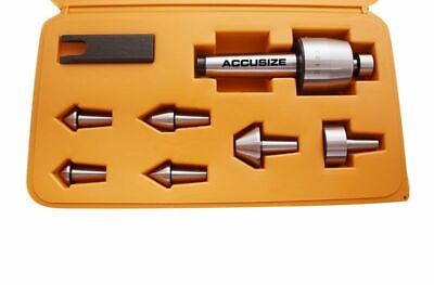 7 Pcs Medium Duty Live Center Set in Fitted Box, MT3, #6920-3426