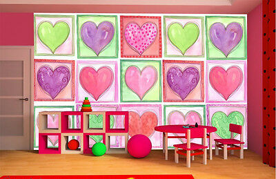 Heart-to-Heart-13.5'W by 8'H-Wall Mural