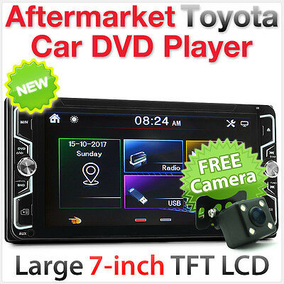 """7"""" Car DVD Player For Toyota Avensis Verso Hilux Land Cruiser Stereo Radio CD MK"""
