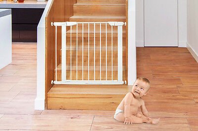 NEW Bubbli Baby Gate Swing Closed Security Gate 74cm Tall Safety Equipment