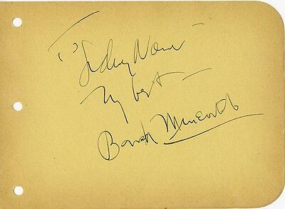 Vintage MYSTERY Autograph - Who Is This Star? 1928