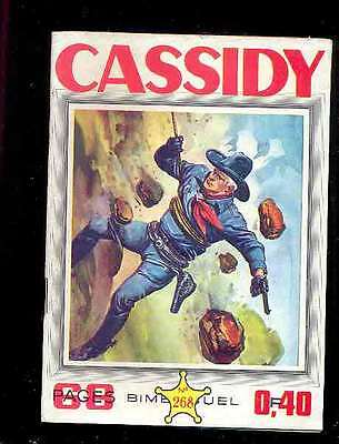 Cassidy n°268 Editions Impéria, 1963, Western, Indiens, comics USA traduit