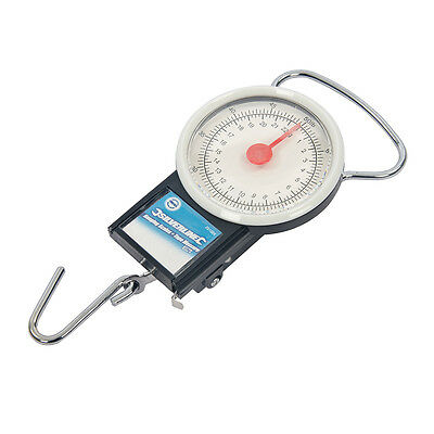 Travel fishing luggage hanging weighing scale with tape measure weight 22kg