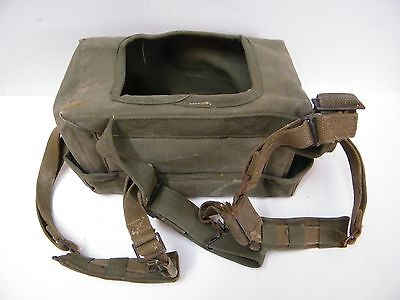 Vintage WWII US Military Canvas Radio Ex. Cond. CY-90/PBS-1 / WORLD WAR TWO