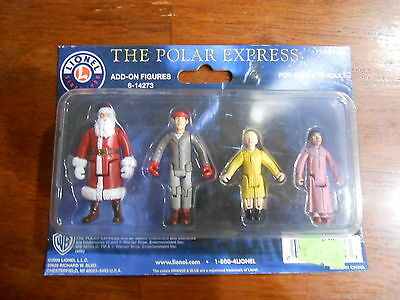 +++ LIONEL THE POLAR EXPRESS FOUR ADD ON FIGURES 6-14273 NEW SEALED +++