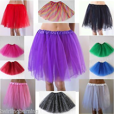 【Extra Long】Women Ballet Tutu AU6-14 Soft Tulle Lady Dancing Skirt Costume CS03