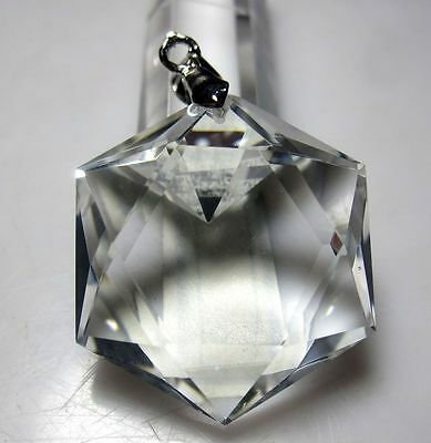 9-11g BEST!!! 100% Natural Clear Quartz Crystal White Crystal Healing Pendant