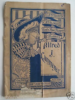 Illustrated Catalog For Boots,  Shoes, Slippers & Reubbers Alfred Cammeyer 1900